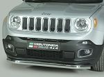 Jeep Renegade Bumper Guard - Front - Slash Bar Bumper Protector by Misutonida - Sport/ Latitude/ Limited