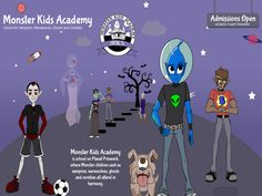 Monster Kids Academy: Anti-Bullying Children's Book Series project video thumbnail