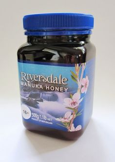 Riversdale Manuka Honey. Available in 250g, 500g and 1kg jars.