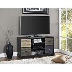 Shop for Altra Blackburn Storage TV Console. Get free shipping at Overstock.com - Your Online Furniture Outlet Store! Get 5% in rewards with Club O!