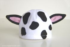 A simple DIY Baby Cow Costume...with an UDDER!! --- Make It and Love It