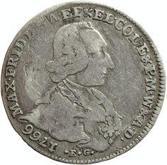 1766 Germany states Cologne Friedrich von Königsegg silver 1/4 thaler (taler) /24 stuber www.numismaticland.co.uk