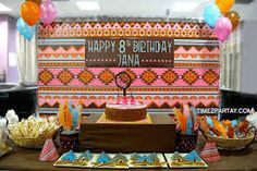 Image result for pocahontas birthday party