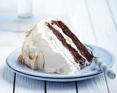 Chocolate and coffee meringue cake recipe