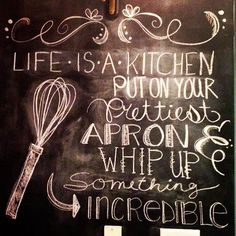Want to put this up in the kitchen! So many other great ideas on this site too!