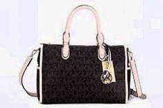 Michael Kors Large Hamilton Womens Handbag Tote Shoulder Bag Brown >>> Click on the image for additional details.