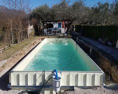 68 besten Pool selbst bauen Bilder auf Pinterest | Home and garden ...