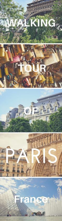 A walking tour of Paris, France, is the perfect way to see the sights when you're short on time! Our one-day Paris itinerary has you covered. Self-guided walk in Paris with a free map.