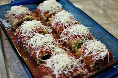 Lasagna rolls-by Kelly Luna, via Flickr