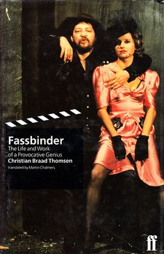 Great book...even greater filmmaker.  HANNA SCHYGULLA - TANGO FILMS Rainer Werner Fassbinder Antitheater de Múnich By Adolfo Vásquez Rocca