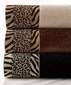 pretty animal print towels  http://rstyle.me/n/iv8khpdpe