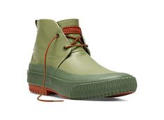 This is the kind of rain boot I'd wear - Hi Pres (Combat) - by PF Flyer