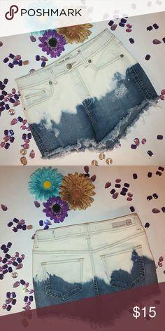 Denim Shorts White and Jean shorts sneak peek Shorts Skorts