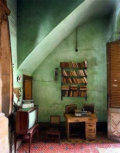 Robert Polidori's Photography – The English Muse. Havana interior