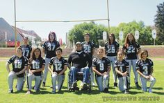 Halcones y Raiders imparables en la liga CEFAZ de Flag femenil ~ Ags Sports