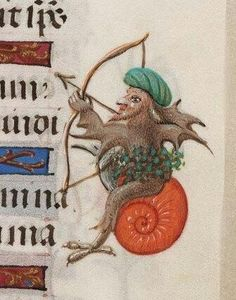 The Archer, BeineckeLibrary, MS. 287, 15th c.