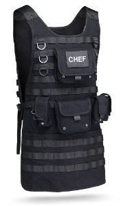 Law Enforcement Police Tactical Chef Apron - for the officer who has everything else!