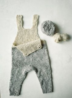 Knit pattern for baby romper