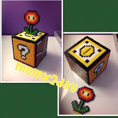 My favorite item on top of my newly finished 3D coin bank ☺️ #nintendo #fir... | Iconosquare
