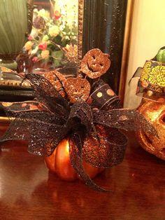 Custom Decorated Halloween Pumpkins by Hanna214 on Etsy, $25.00