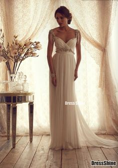 I like this - Hot sell Classic Chiffon Beading Bow Vintage Wedding Dress. Do you think I should buy it?