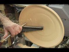 Wood Turning - Finishing a Rough Turned Bowl
