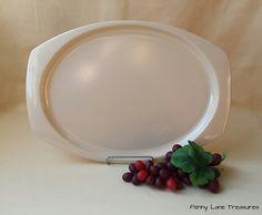 Vintage Melamine Platter ~ Prolonware ~ Vistron ~ Dinner Tray ~ 1960's ~ Serving Plate ~ Restaurant Ware ~ Genuine Melmac ~ Plastic Plate by PennyLaneTreasures on Etsy