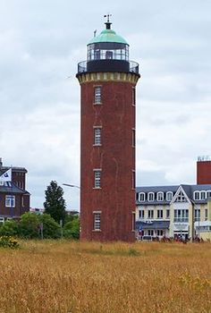 Cuxhaven Germany The Cuxhaven Lighthouse was built in 1805.