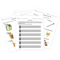 This large variety of FREE printable quizzes tests and worksheets cover dance theatre photography music and more. Free Printable Worksheets, Free Printables, Music Theory Worksheets, Theory Test, Piano Lessons, Music Lessons, Help Teaching, Elementary Music, Music Classroom