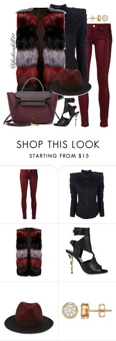 """Dope"" by fashionkill21 ❤ liked on Polyvore featuring Paige Denim, Balmain, Lipsy, Forever 21, women's clothing, women, female, woman, misses and juniors"
