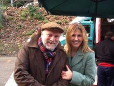 Con lo chef Antonello Colonna al mercato di Zagarolo