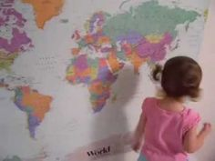 She's the cutest. I see a world traveler in her future!