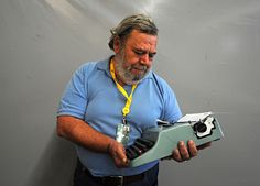 """Is it sad that I admire someone for being Twitter-free?  Italian journalist Gianni Muro is one of the senior members of the Tour de France press corps. Unyieldingly old-school, Mura still types each story on his vintage """"Lettura 32"""" typewriter before calling it into the office of his newspaper, La Repubblica. Mura, who covered his first Tour de France in 1967, does not have a Twitter handle."""