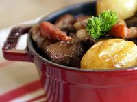 Boeuf bourguignon - Recette du boeuf bourguignon (avec marinade)