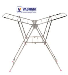 WINGER CLOTH DRYING STAND This cloth drying stand features a user-friendly, accordion style design that sets up in seconds. It is compact and comes with a basket for storage of clips and hangers. Free yourself from the dependance on the weather. Cloth Drying Stand, Storage Baskets, Hangers, Compact, Weather, Unicorn, Free, Fashion Design, Clothes