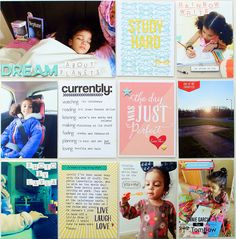 15 Tips for Easier and Meaningful Pocket Pages #projectlife #pocketpages