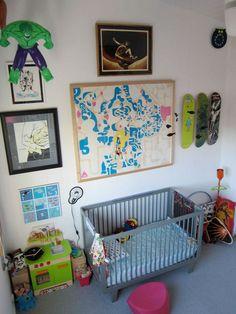 the boo and the boy: decor  #oeufnyc #nursery #crib