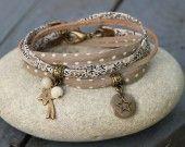 bracelet 2 tours étoiles