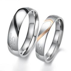 243 Best His Her Matching Wedding Bands Images On Pinterest