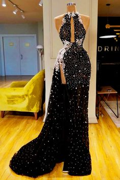 Fashion Hollow Out Slit Dress Evening Dresses, Prom Dresses, Formal Dresses, Elegant Dresses, Pretty Dresses, Dress Outfits, Fashion Dresses, Frack, Beautiful Gowns