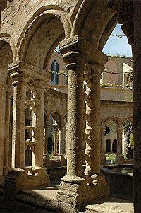 The Cloisters, France, Languedoc, Building, Cathedrals, House, Environment, Paisajes, Roman Art