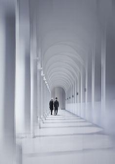 Black and White Depth by Christine Ellger