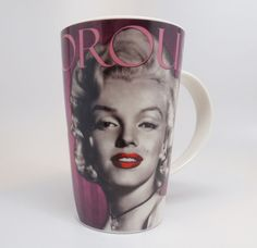 Ceramic Mug for sale online Rare Marilyn Monroe, Mugs For Sale, Pink Gifts, Cups, Ceramics, Ebay, Hall Pottery, Mugs, Pottery