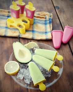 Picolé Diet de Abacate - Receitas de Mãe