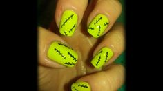 Frankenstein Carnival Nails(Nailed It)