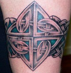 Tattoos - Ethnic Celtic Knotwork tattoos - Celtic Armband