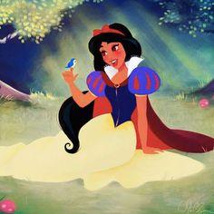 See how these Disney Princesses swap dresses!