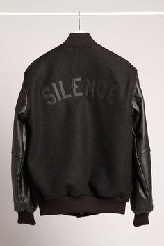 "PLD ""Silence"" Varsity Jacket"