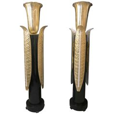 Pair of a Very Special Floor Lamps | From a unique collection of antique and modern floor lamps  at http://www.1stdibs.com/furniture/lighting/floor-lamps/