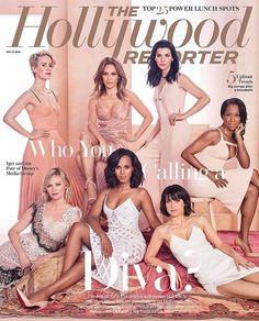 Sarah Paulson, Jennifer Lopez, Julianna Margulies, Regina King, Kirsten Dunst, Kerry Washington & Constance Zimmer for The Hollywood Reporter May 2016 | Art8amby's Blog